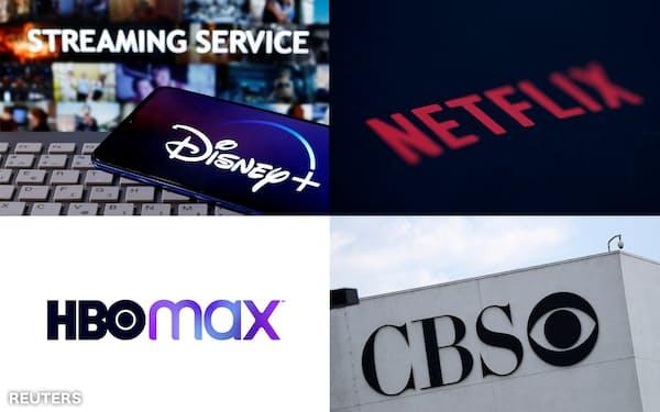 動画配信サービス各社はシェア争奪でしのぎを削る=ロイター