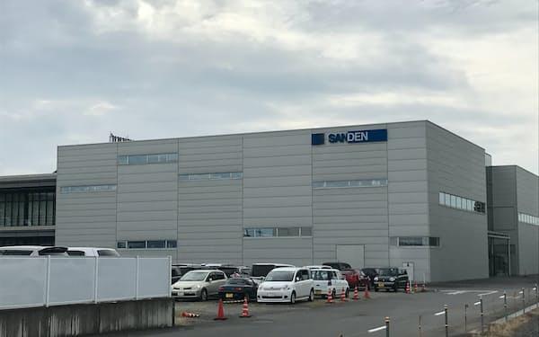 サンデンHDは中国企業の傘下で経営再建を目指す(群馬県伊勢崎市の本社)