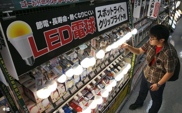 発光ダイオード(LED)照明は震災を機に広がった