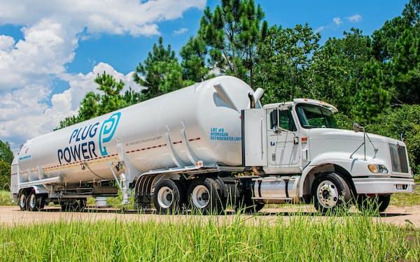 SKは米水素燃料のプラグパワーの筆頭株主となり事業ノウハウを吸収する(プラグパワーの水素燃料運搬車)