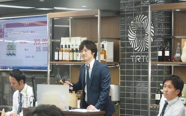酒類買い取り業者の蔵王(大阪市)が始めたウイスキー専門のオークション
