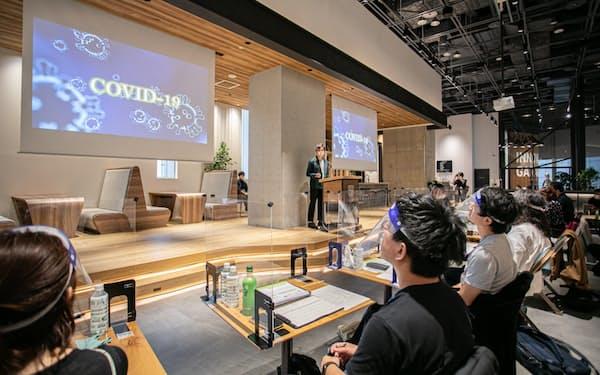 トンガリなどが催した以前のイベントの様子(名古屋市、2020年10月)