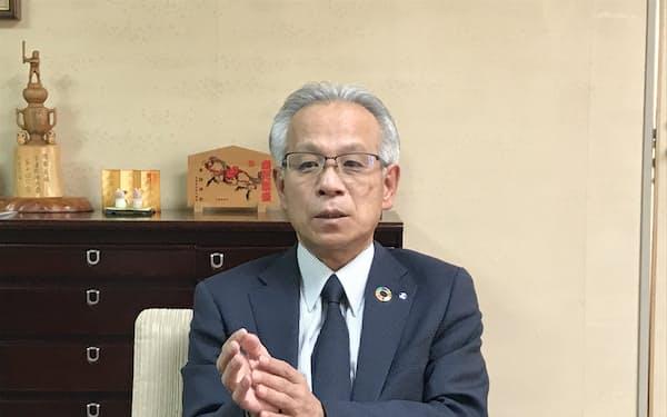 高山信用金庫・坂口秀平理事長