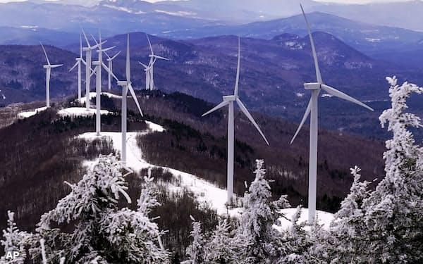イリジウムは再生可能エネルギーを利用した水素製造装置に使うことから注目が集まっている=AP
