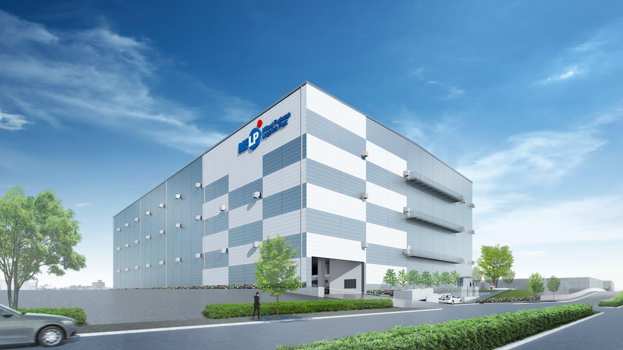 「ラストワンマイル」対応で都心部にも建設する(東京・新木場で開発予定の物流施設のイメージ)