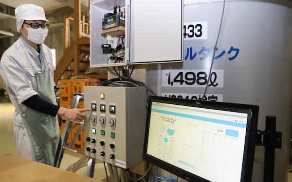 IoTで日本酒発酵の温度管理を自動化する(秋田市の秋田酒類製造)