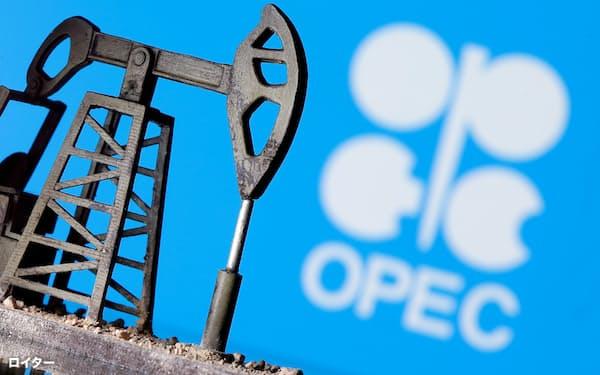減産維持の決定を受け、NY原油先物相場は1年2カ月ぶりの高値を付けた=ロイター