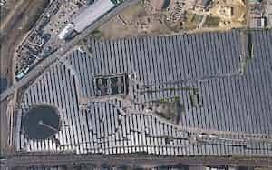 双日は脱炭素を推進し、再生可能エネルギーを事業の柱に育成する(双日グループが運営する茨城県のメガソーラー)