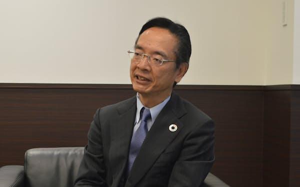 阪急阪神不動産の諸冨隆一社長は「交流施設は会員外の企業にも開かれたものにする」と話す