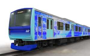 JR東などが開発する燃料電池車両