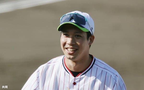 山田哲はキャプテンに就任し、新たなモチベーションを得てシーズンに臨む=共同