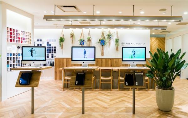 「ファブリックトウキョウ」の新宿マルイの店舗。売り上げは追わず消費者の声を拾うことに注力する