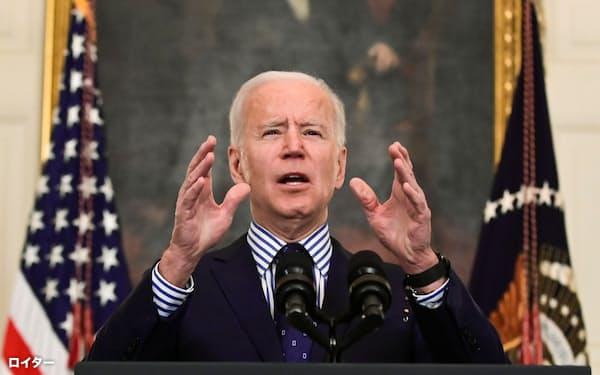 バイデン米大統領の経済対策法案に対する支持の強さは歴史的といっても過言ではない=ロイター