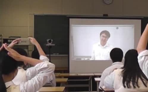 南茅部高校(函館市)では配信システムを使った遠隔授業を手掛けている