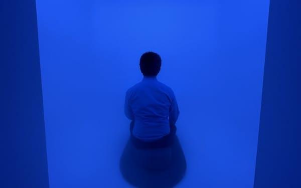 「無」の空間の中で瞑想に集中できる