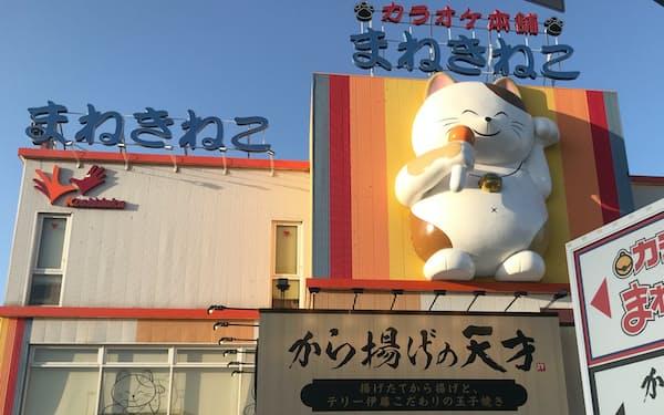 コシダカHDは積極出店を続ける(前橋市のカラオケまねきねこ前橋本店)
