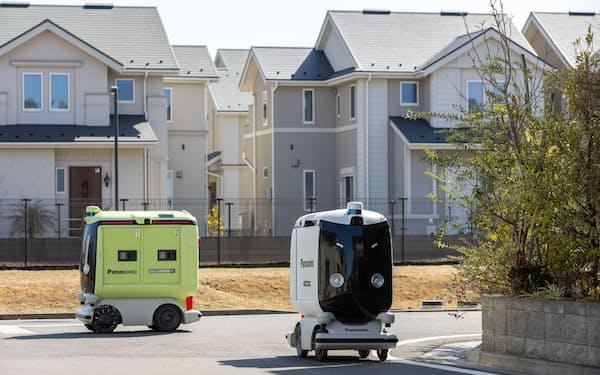 パナソニックは小型ロボットの自動運転などでAIの活用を進める