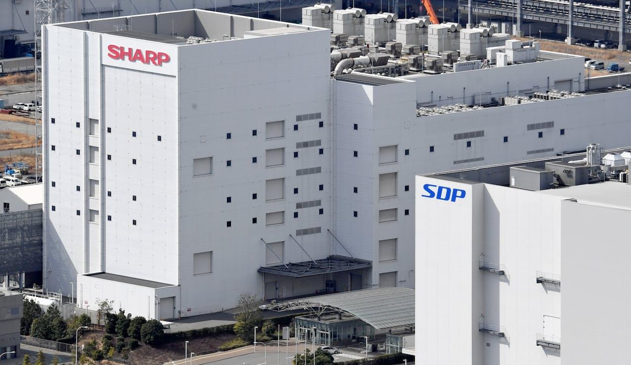 売却先から申し入れがあり、シャープが売却を中止した液晶パネル工場運営の堺ディスプレイプロダクト(SDP)