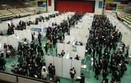 日本を代表する著名企業に特化したマッチングイベントを毎年開いている(2020年2月、大阪府東大阪市のキャンパス内)