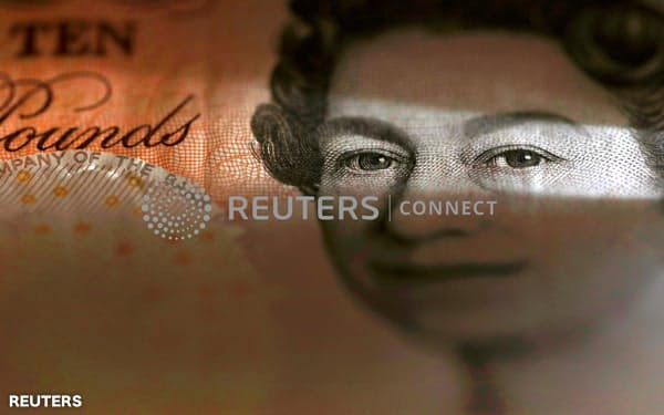 An English ten Pound note is seen in an illustration taken March 16, 2016.  REUTERS/Phil Noble/Illustration