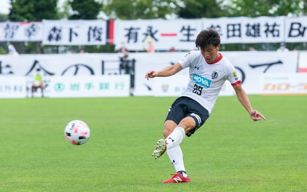 J3盛岡はNOVAホールディングスの資金で選手を積極補強した