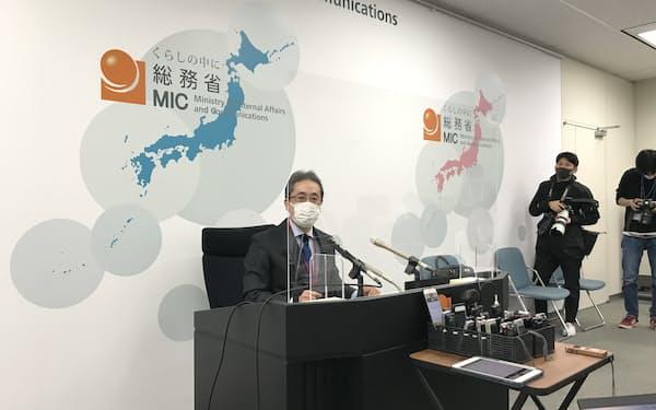 吉野座長は歴代の政務三役も検証対象とする方針だ(17日、東京・霞が関)
