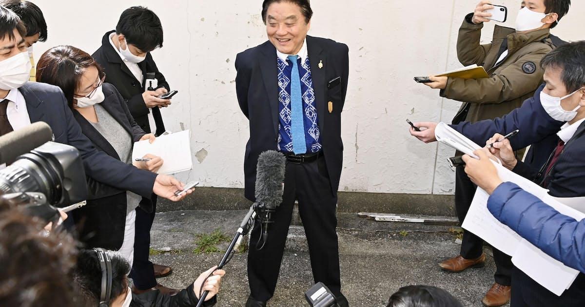 河村たかし氏が出馬表明、名古屋市長選挙: 日本経済新聞