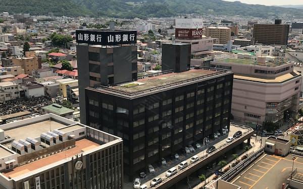 デジタル化で収益拡大を図る山形銀行(山形市)