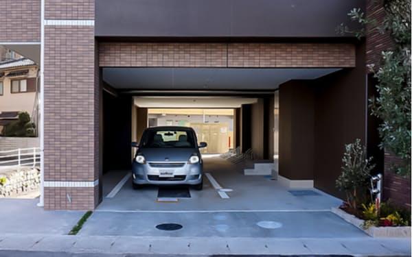 岡山市北区の新築賃貸マンションに住人限定のカーシェアサービスを導入した