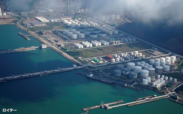 中国では原油の貯蔵能力が拡大=ロイター