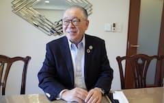 IFRS財団 アジア・オセアニアオフィスの島崎憲明シニアアドバイザー