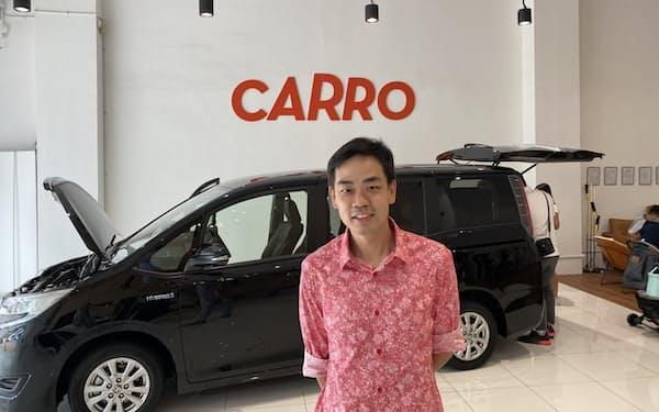 カーロのアーロン・タンCEOは自らAIの開発を手がける