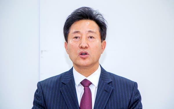 保守系野党「国民の力」の呉世勲・元ソウル市長