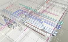 ダイダン、工事現場を自動で3D図面化 作製時間半減