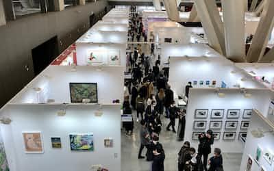 アートフェア東京2021会場風景(東京国際フォーラム)