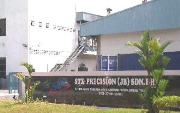 STXプレシジョン(JB)の工場(マレーシア・ジョホールバル)
