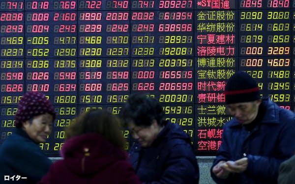 中国市場には国内外の資金が集まっている=ロイター