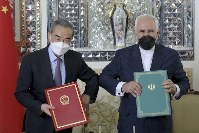 中国とイラン、25カ年協定調印 民主主義陣営に対抗: 日本経済新聞