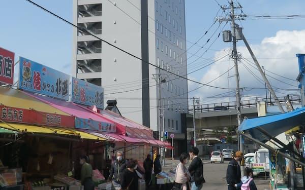 東急ステイは函館朝市の近くでオープンした(北海道函館市)
