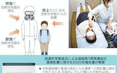 福島事故被曝で国連報告書「健康への影響、可能性低い」