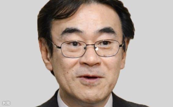 東京高検の黒川弘務元検事長=共同
