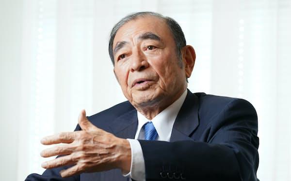 退任を発表した富士フイルムホールディングスの古森重隆会長兼CEO