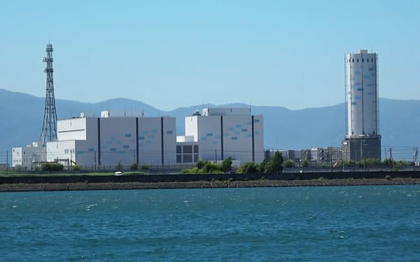 LNG使う北海道電力の石狩湾新港発電所1号機(北海道小樽市)