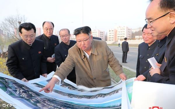 日米韓は核・ミサイル開発を進める北朝鮮の金正恩(キム・ジョンウン)総書記の動向を注視している=ロイター