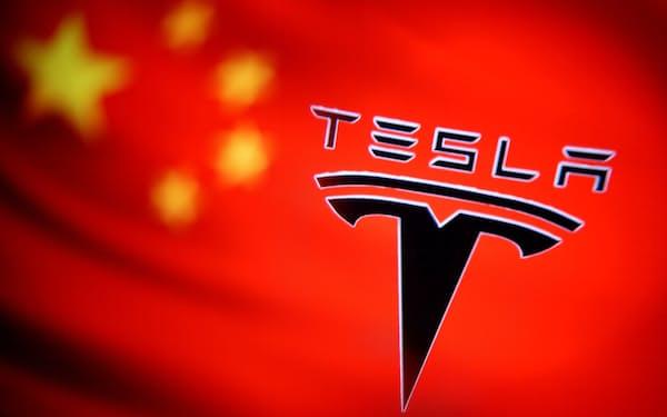 テスラの中国・上海工場が輸出拠点としての存在感を高めている=ロイター