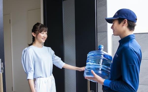 宅配水の需要はコロナ禍で拡大した