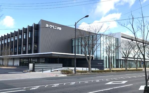ヨークベニマルの新本社は従業員のトレーニングセンターを備える(福島県郡山市)