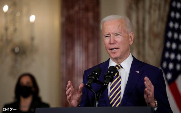 バイデン米大統領はオバマ政権が米国主導でまとめた枠組みを再起動し、中東の秩序づくりに関与を強めたい考えだ=ロイター