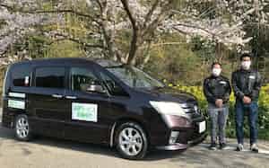 いすみ鉄道国吉駅周辺で始まった自家用車による送迎サービス