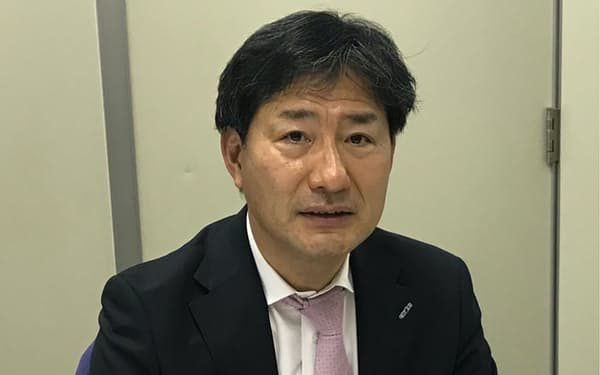 蝶理の吉田裕志北陸支店長